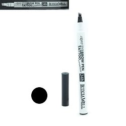 Feutre sourcils Noir liquid Eyebrow Pen Tattoo sourcils Leticia Well