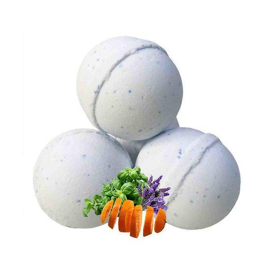 Boule de bain Relaxante aromathérapie lavande, orange et basilic