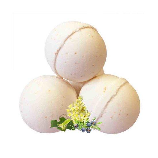 Boule de bain Détox aroma may chang, arbre à thé et genévrier