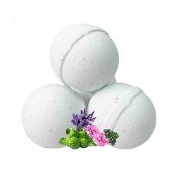 Boule de bain Bien-être aroma géranium, lavande et bergamote
