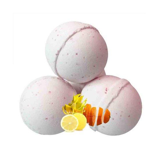 Boule de bain Eveil des Sens aroma ylang-ylang, citron et orange