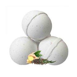 Boule bain Anti-coup de froid eucalyptus, gingembre et poivre noir