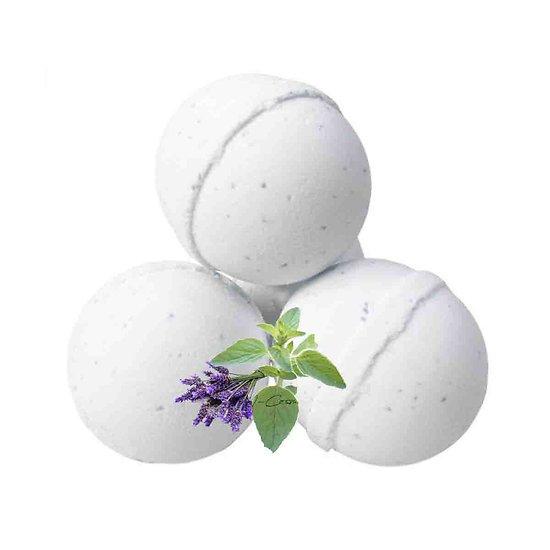 Boule de bain Paresse aromathérapie avec lavande et marjolaine
