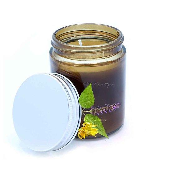 Bougie aromathérapie Aphrodisiaque ylang-ylang et patchouli