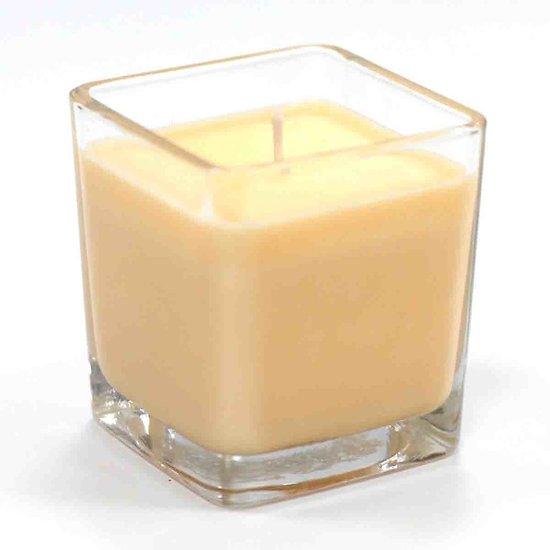 Bougie cire soja parfumée Pamplemousse et Gingembre pot verre