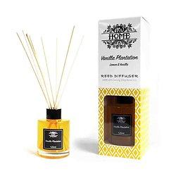 Diffuseur à Rotin Vanille et Citron en 120ml aux Huiles Parfumées