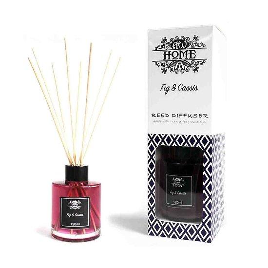 Diffuseur tige en Rotin Figue et Cassis 120ml Huiles Parfumées
