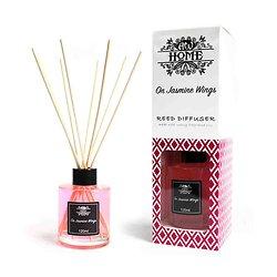 Diffuseur tige Rotin Sur des Ailes de Jasmin 120ml Huile Parfumée