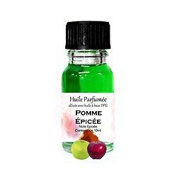 Huile parfumée Pomme Epicée 10ml note épicée parfum ambiance