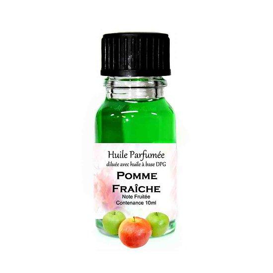 Huile parfumée Pomme Fraîche note fruitée 10ml parfum ambiance