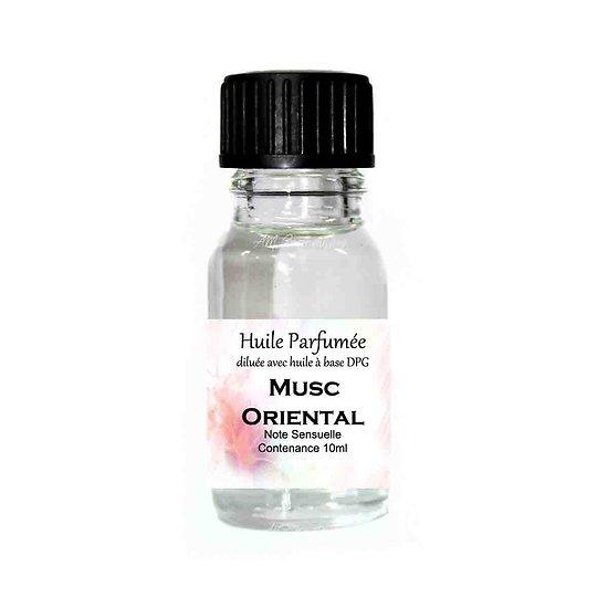 Huile parfumée Musc oriental note sensuelle 10ml ambiance