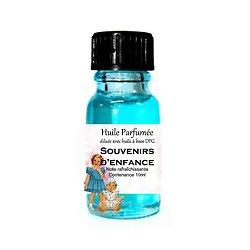 Huile parfumée Souvenirs d'enfance note rafraîchissante 10ml