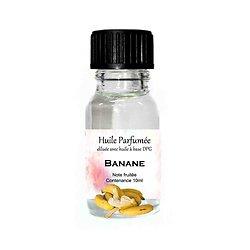 Huile parfumée Banane note fruitée 10ml diluée parfum d'ambiance