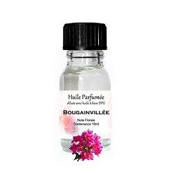 Huile parfumée Bougainvillée note florale 10ml parfum d'ambiance