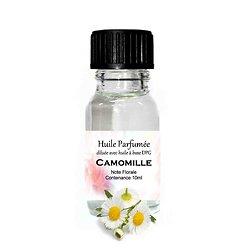 Huile parfumée Camomille note florale en 10ml parfum ambiance