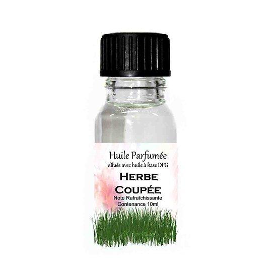 Huile parfumée Herbe coupée note rafraîchissante 10ml ambiance