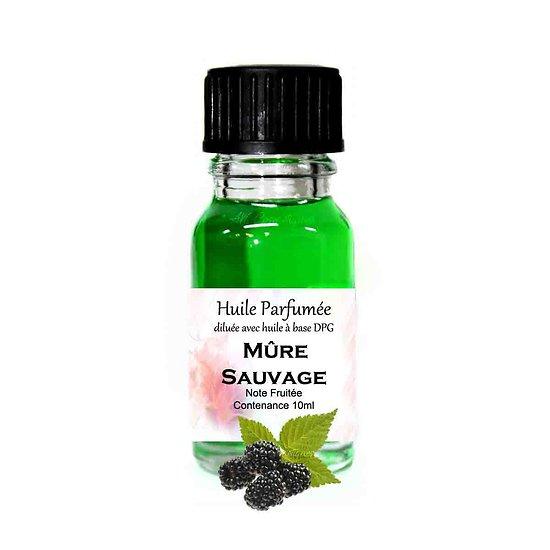 Huile parfumée Mûre Sauvage note fruitée 10ml parfum ambiance