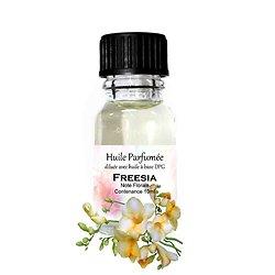 Huile parfumée Freesia note florale en 10ml pour parfum ambiance