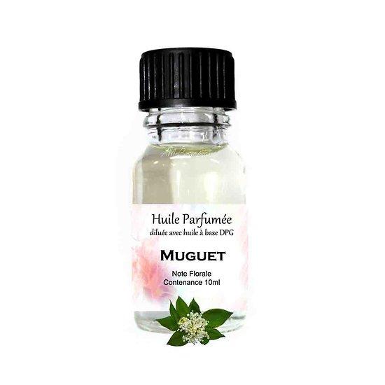 Huile parfumée Muguet note florale 10ml diluée parfum ambiance