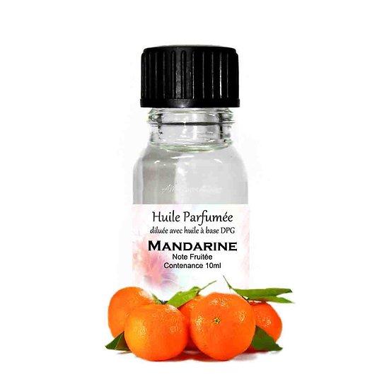 Huile parfumée Mandarine note fruitée 10ml parfum ambiance