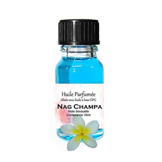 Huile parfumée Nag Champa note sensuelle 10ml pour ambiance