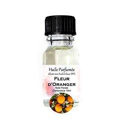 Huile parfumée Fleur d'Oranger note florale 10ml parfum ambiance