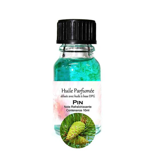 Huile parfumée Pin note rafraîchissante 10ml parfum ambiance