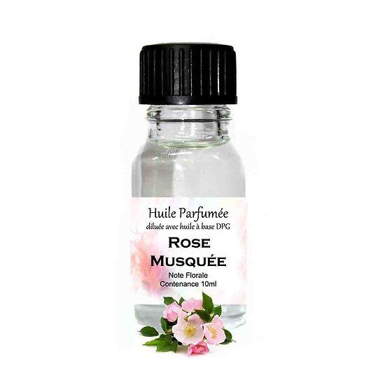 Huile parfumée Rose Musquée note florale 10ml parfum ambiance