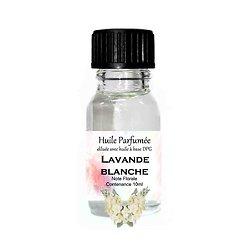 Huile parfumée Lavande Blanche note florale 10ml ambiance