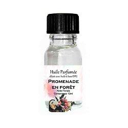 Huile parfumée Promenade en forêt note florale 10ml