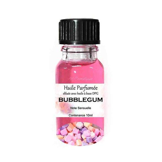 Huile parfumée Bubblegum note sensuelle 10ml parfum ambiance