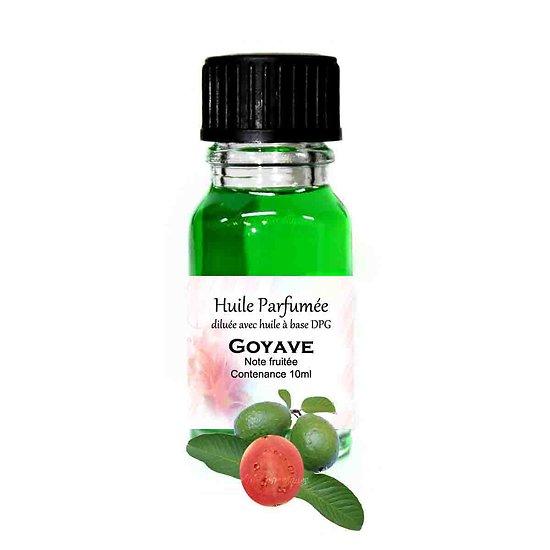 Huile parfumée Goyave note fruitée 10ml diluée parfum ambiance
