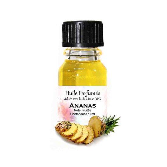 Huile parfumée Ananas note fruitée 10ml diluée parfum d'ambiance