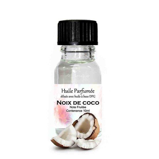 Huile parfumée Noix de Coco note fruitée 10ml parfum ambiance