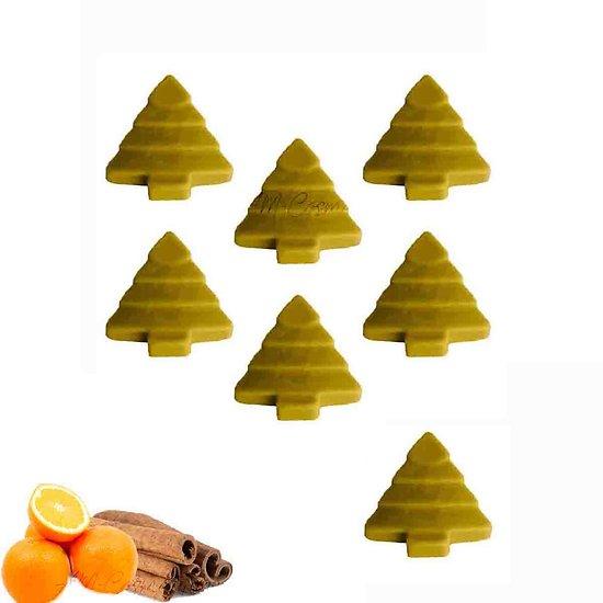 Fondant parfumé Orange et Cannelle cire de soja et huile parfumée