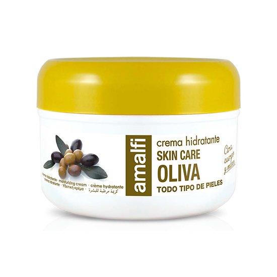 Crème hydratante Olive en 200ml tout type de peau Amalfi