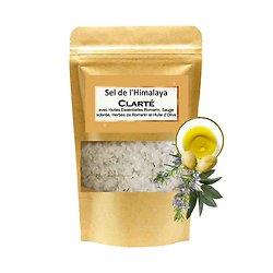 Sel de bain Himalaya Clarté mélange romarin et sauge sclarée