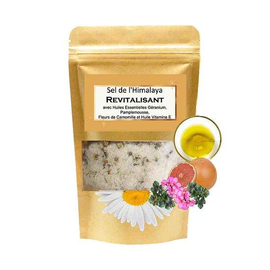 Sel de bain Himalaya Revitalisant géranium et huile vitamine E