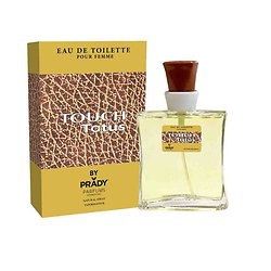 Eau de Toilette Femme Touch Tatus en spray de 100ml Prady