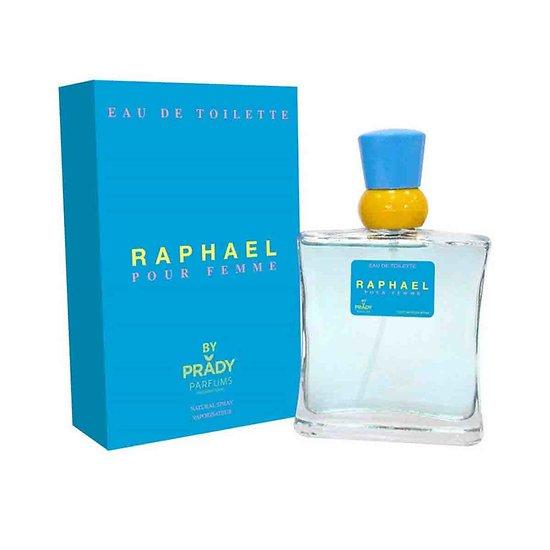 Eau de Toilette Raphael pour Femmes en spray de 100ml Prady