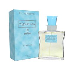 Eau de Toilette Femme Night In Blue en spray de 100ml Prady