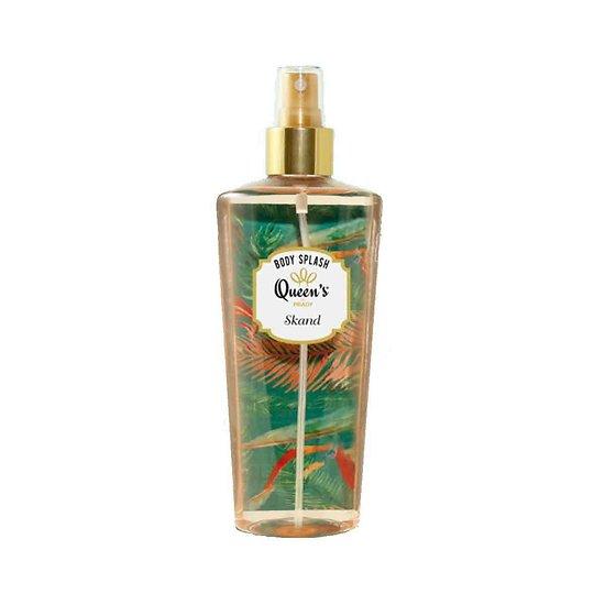 Brume parfumée Skand lotion fruitée body splash queen'S Prady
