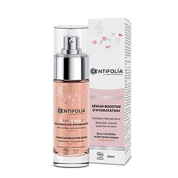 Sérum Booster hydratation Éclat de Rose visage Bio en 30ml Centifolia