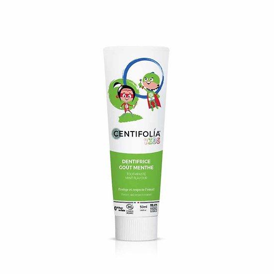 Dentifrice spécial enfants Premières dents goût Menthe 50ml Centifolia