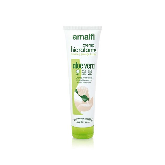 Crème hydratante Aloe Vera tube 150ml tout type de peau Amalfi