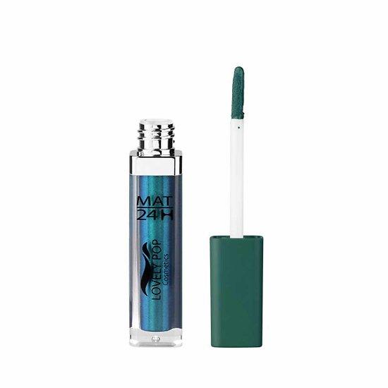 Rouge à lèvres liquide Mat Vert Bleu 20 mat 24h Lovely Pop