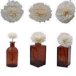 Fleur Oeillet diffuseur naturel corde ou bâtonnet diffuseur parfum