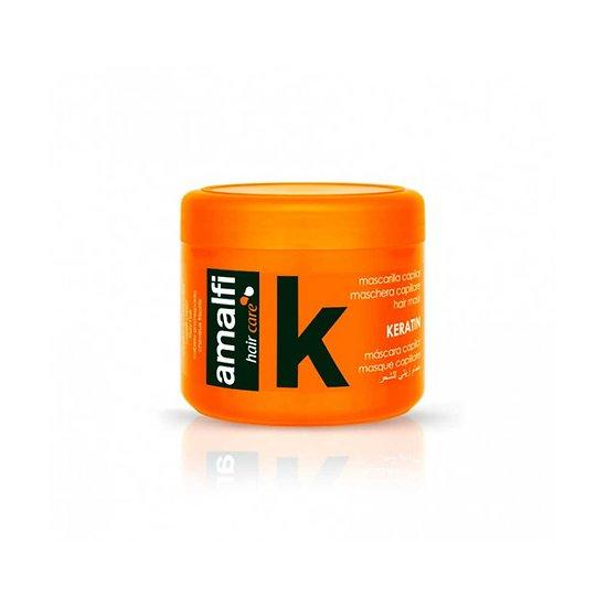 Masque capillaire kératine 500ml nourrit et protège cheveux Amalfi