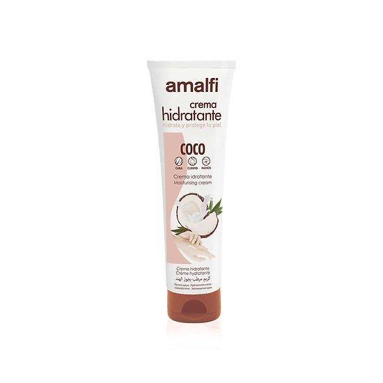 Crème hydratante Noix de Coco tube 150ml tout type peau Amalfi