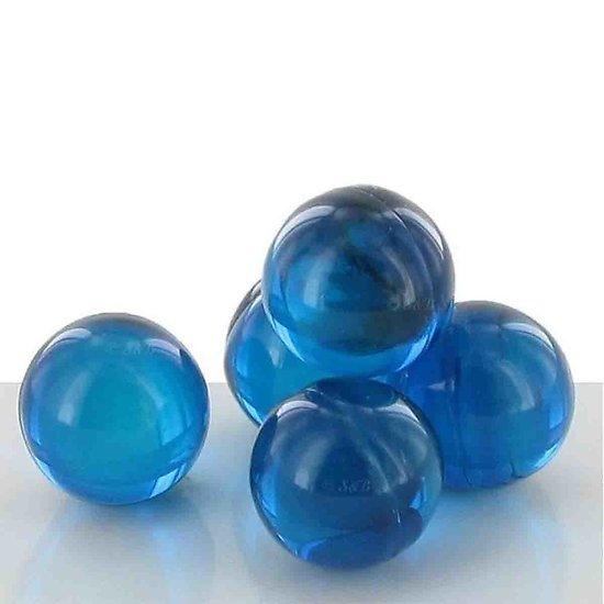Perle de bain parfumée Fleur de Lotus bleu indigo translucide